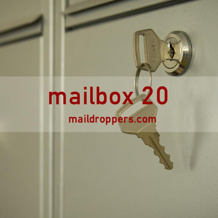 mailbox 20 mail forwarding address