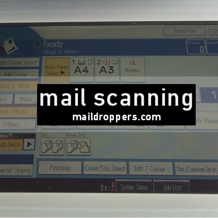 mail scan and email